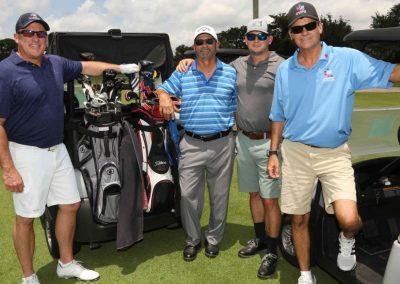 Charity Golf Tournament LCF golf team members