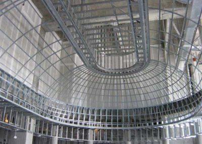 Nova Southeastern Business School Metal Dome Ceiling Framing