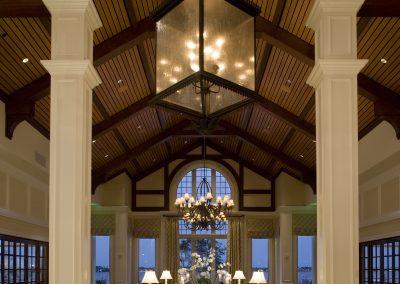 Riverside Lounge interior dining area