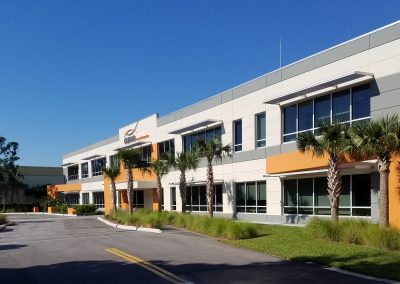 Exterior view of Cosmo International Corp