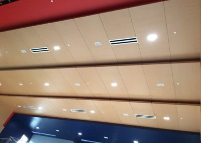 FAU Auditorium Wall and Ceiling Panels
