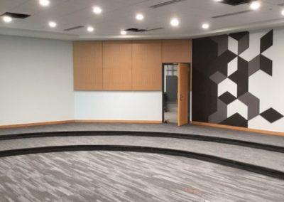 FAU Classroom wall panels