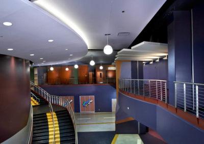 Calvary Christian Academy acoustical ceilings and interior work